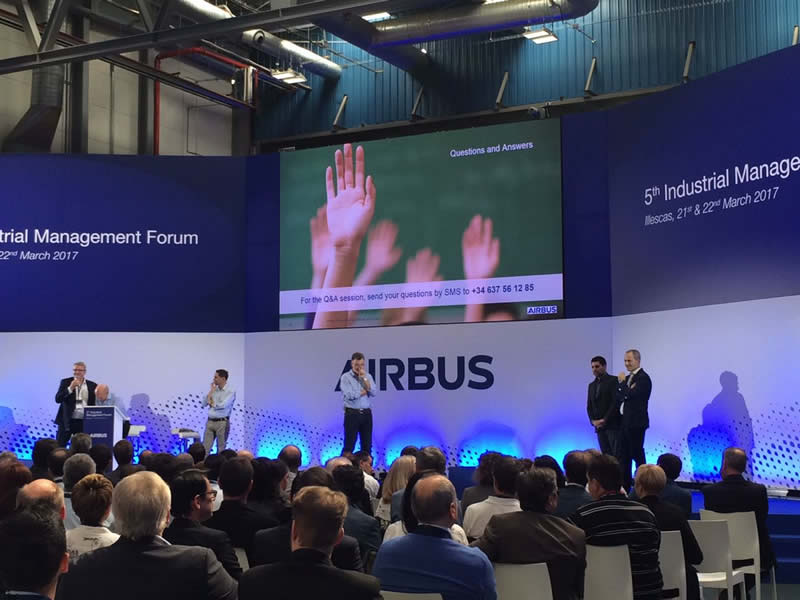 5th Industrial Management Forum de Airbus