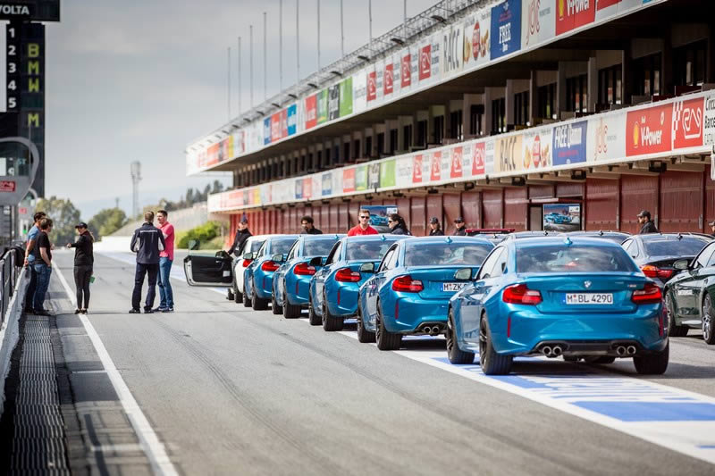 BMW M Track Days 2016 Barcelona 1