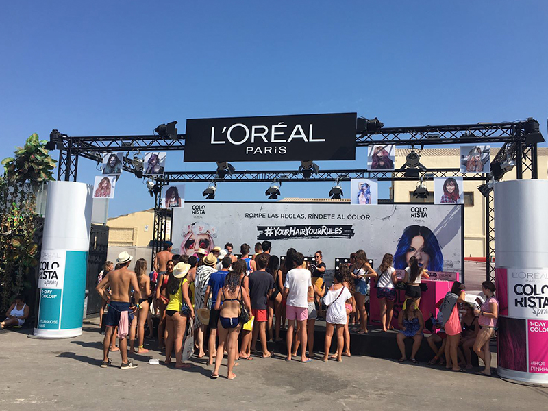 L'Oréal Arenal Sound Your Hair Hour Rules 1