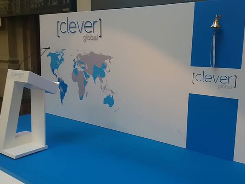 Salida al MAB de Clever Global 2